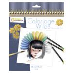 Carnet de coloriage Wild 5