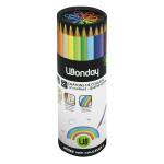 Crayon de couleur en pot 48 crayons pour 12 couleurs