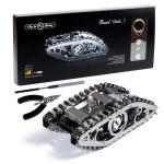 Puzzle 3D mécanique en métal Marvel Tank
