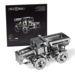 Puzzle 3D mécanique en métal Hot Tractor