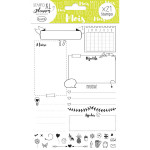 Stampo Planner Page mois - 21 tampons